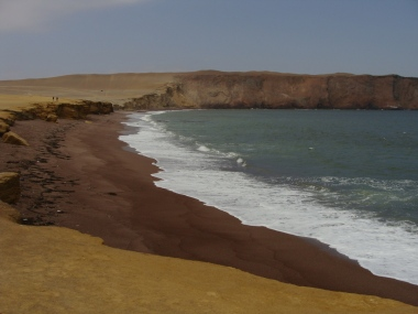 Red Sand Beach, Paracas National Park