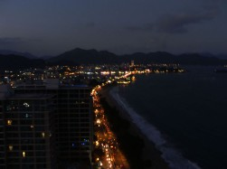 Nha Trang strip at night