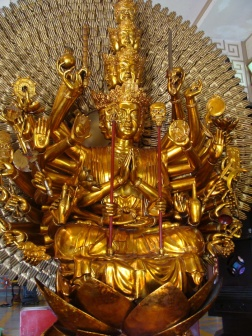 Golden Buddha of Long Son Pagoda