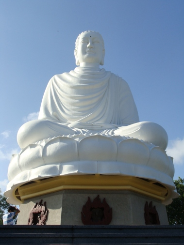Large Buddha of Long Son Pagoda