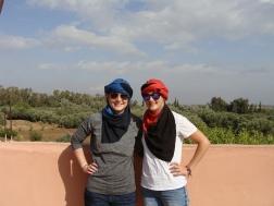 The tour provided turbans
