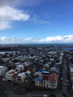View from Hallgrimskirkja tower