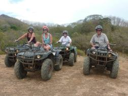 Family ATVing