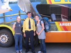 Our faithful bus steward
