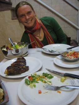 Steak is a must!