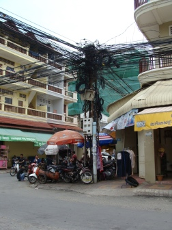 Extreme wire situation