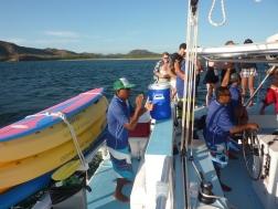 Booze cruise and snorkeling