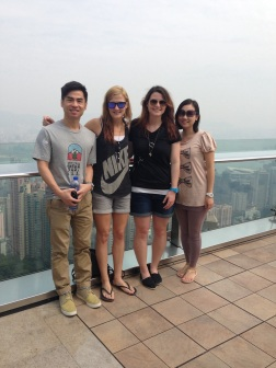 Observation deck of Victoria Peak